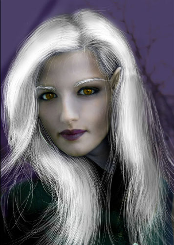 Transform Female into Dark Elf 36