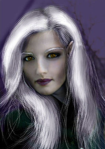 Transform Female into Dark Elf 37