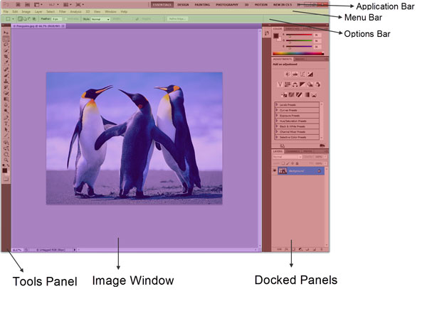Photoshop Interface Explained 1
