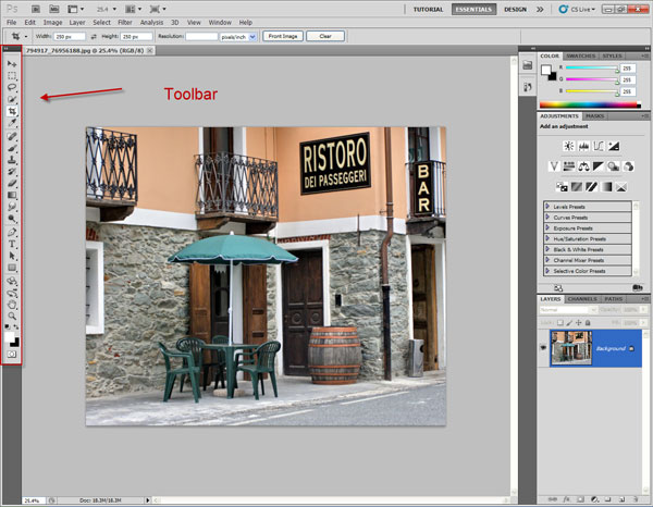 Introduction to the Photoshop Toolbar (Part 1) 1