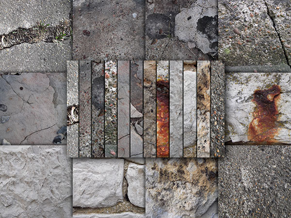 Rough Rock Texture Pack