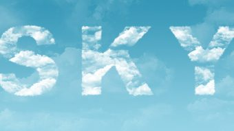 Clouds Text Effect