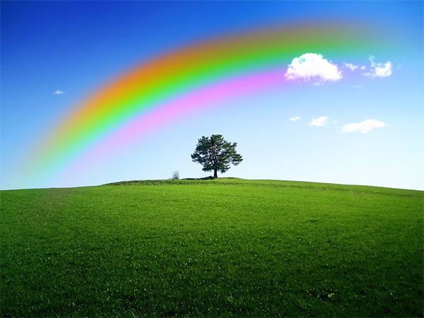 How to Add a Realistic Rainbow Effect to a Photo 12