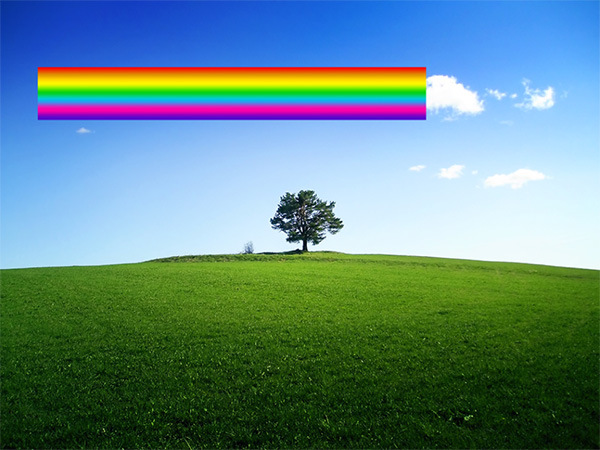 How to Add a Realistic Rainbow Effect to a Photo 6