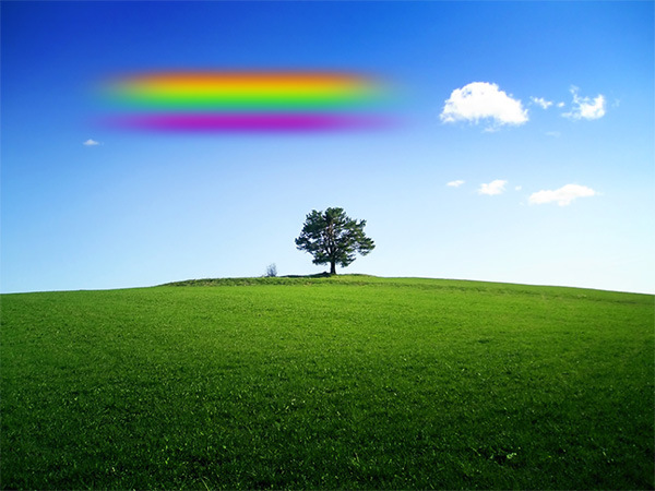 How to Add a Realistic Rainbow Effect to a Photo 9