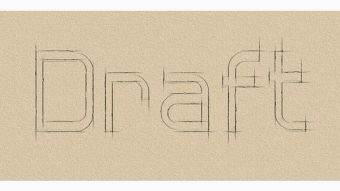 Create an Outline Sketch Text Effect
