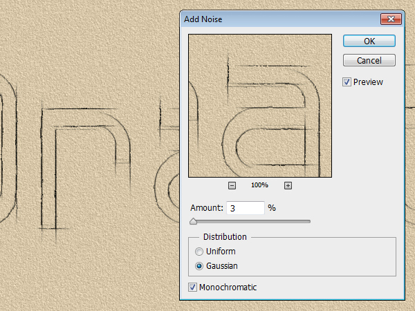 how to get an outline on text in photoshop