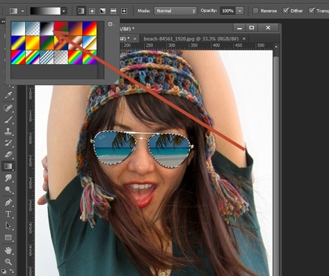 How to Add Reflections To Sunglasses With Photoshop 15