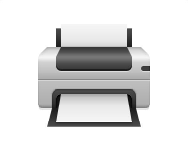 Create a Printer Icon in Adobe Photoshop 16