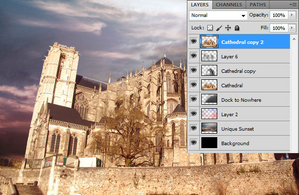 How to Make a Gothic Collage in Photoshop 30