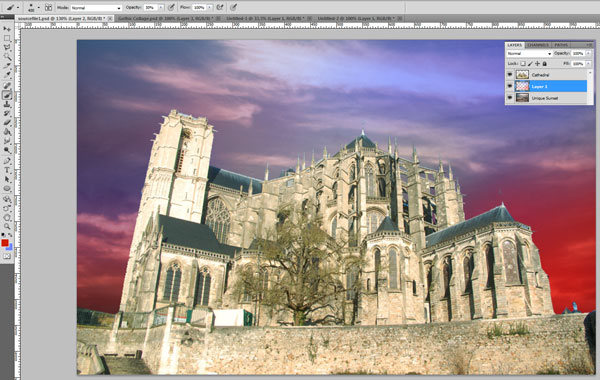 How to Make a Gothic Collage in Photoshop 6