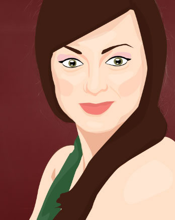 Create a Vector Inspired Portrait in Photoshop 34