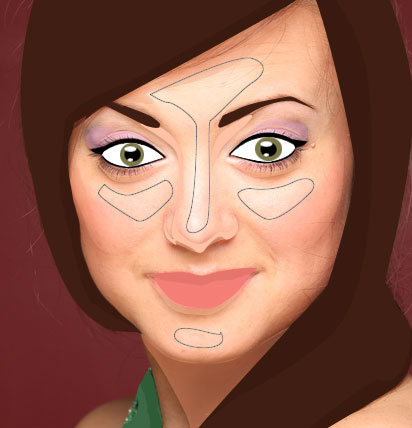 Create a Vector Inspired Portrait in Photoshop 33