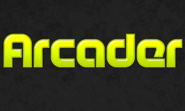 How to Create Arcade Text Effect 8