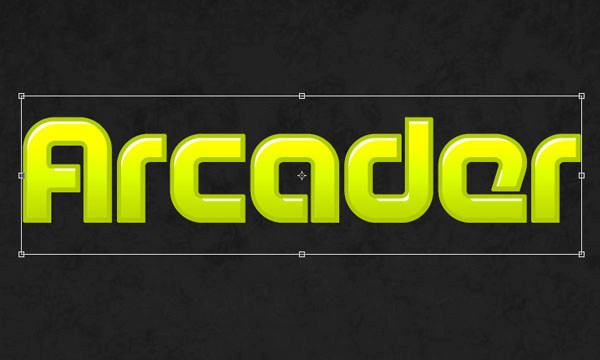 How to Create Arcade Text Effect 10
