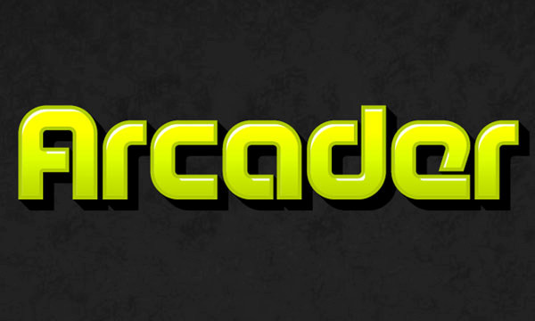 How to Create Arcade Text Effect 14