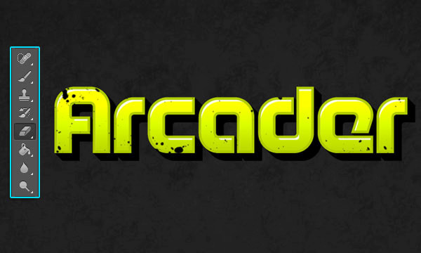 How to Create Arcade Text Effect 16