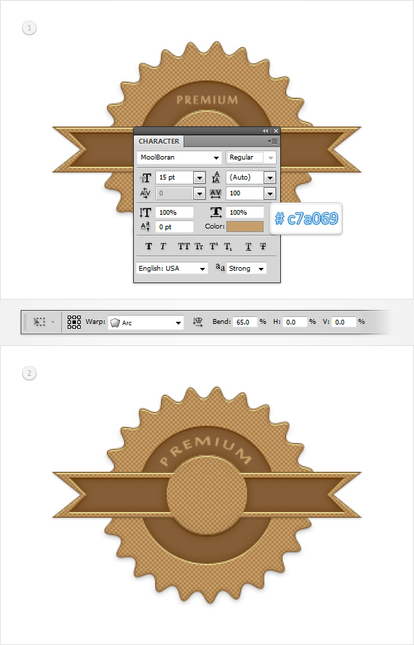 Create a Simple Web Badge in Adobe Photoshop 28