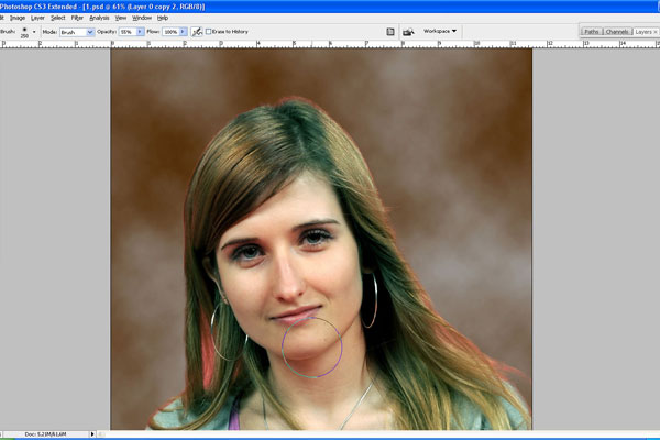 How to Make Drawing from a Photo 7