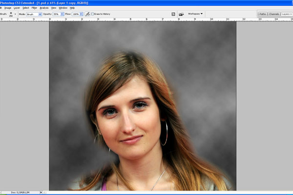 How to Make Drawing from a Photo 12
