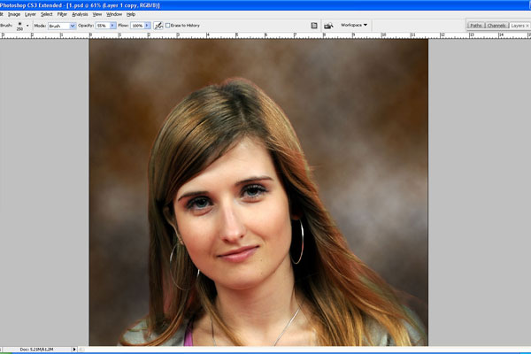 How to Make Drawing from a Photo 13