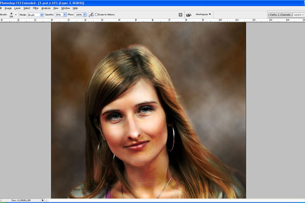How to Make Drawing from a Photo 14