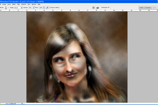 How to Make Drawing from a Photo 15