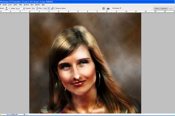 How to Make Drawing from a Photo 16