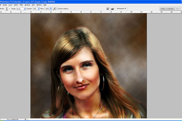 How to Make Drawing from a Photo 17