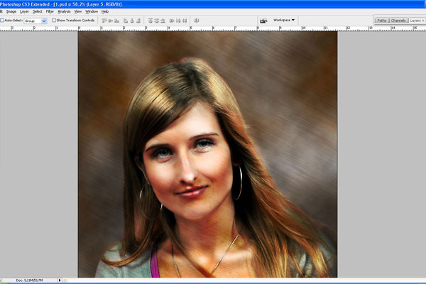 How to Make Drawing from a Photo 26