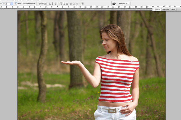 Create a Forest Fairy Using Artistic Photo Processing 1