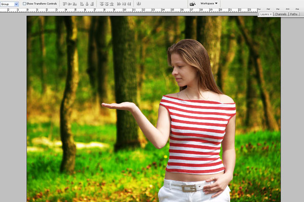 Create a Forest Fairy Using Artistic Photo Processing 9