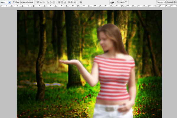 Create a Forest Fairy Using Artistic Photo Processing 23