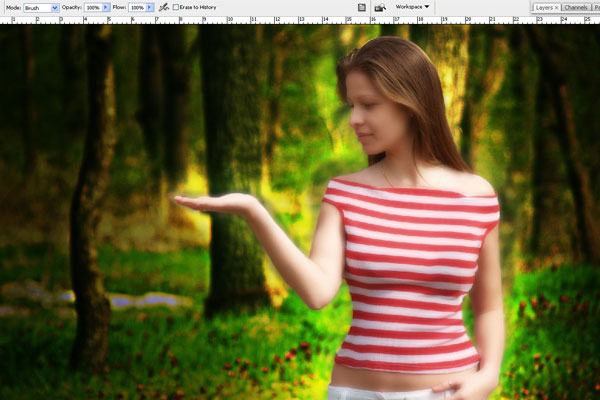 Create a Forest Fairy Using Artistic Photo Processing 28