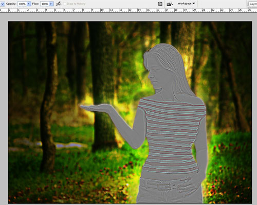 Create a Forest Fairy Using Artistic Photo Processing 31