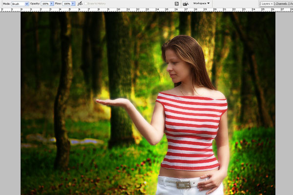 Create a Forest Fairy Using Artistic Photo Processing 34