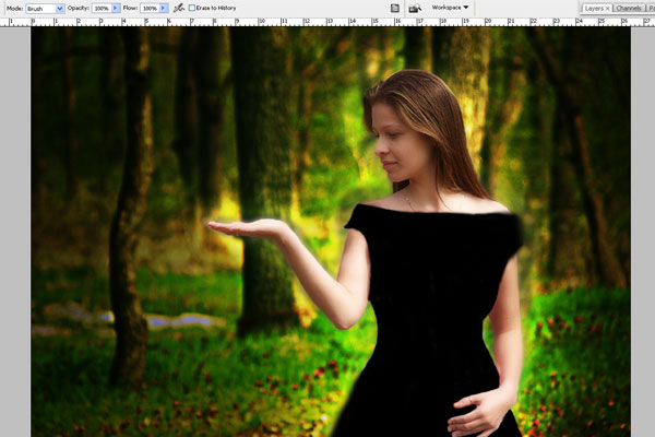 Create a Forest Fairy Using Artistic Photo Processing 36