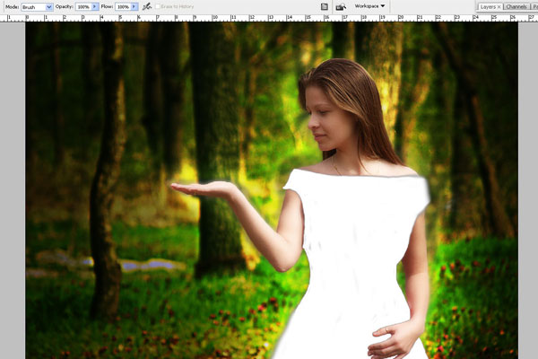 Create a Forest Fairy Using Artistic Photo Processing 38