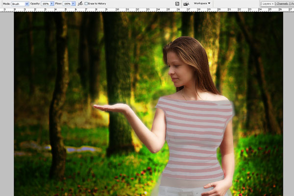 Create a Forest Fairy Using Artistic Photo Processing 39
