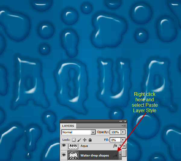 Create an Advanced Water Drop Effect in Photoshop 24