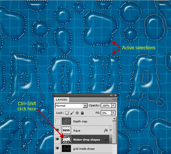 Create an Advanced Water Drop Effect in Photoshop 35