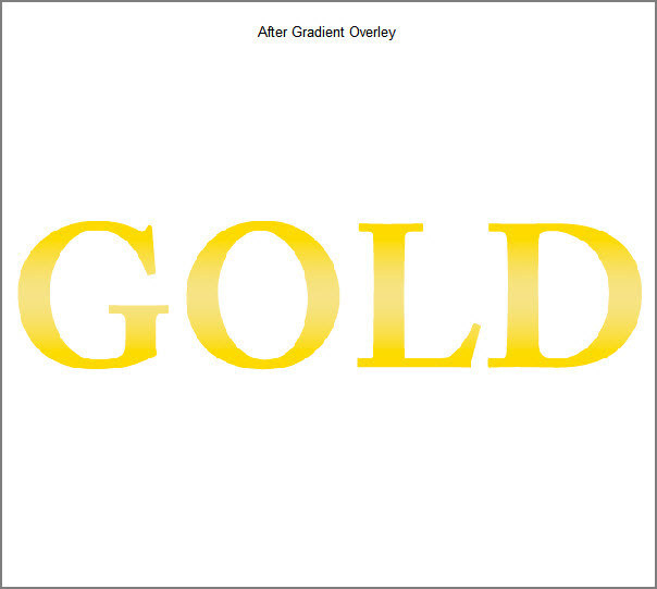 Learn a realistic gold text effect in Photoshop 4