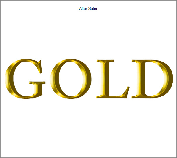 Learn a realistic gold text effect in Photoshop 11