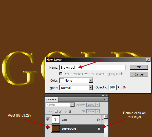 Learn a realistic gold text effect in Photoshop 12