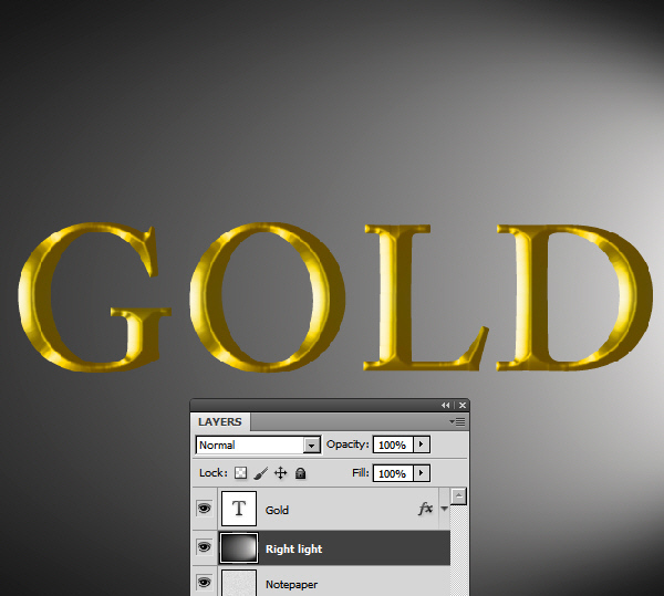 Learn a realistic gold text effect in Photoshop 17