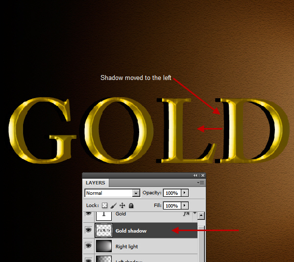 Learn a realistic gold text effect in Photoshop 22