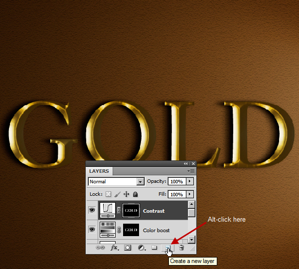 Learn a realistic gold text effect in Photoshop 30