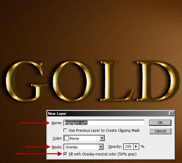 Learn a realistic gold text effect in Photoshop 31
