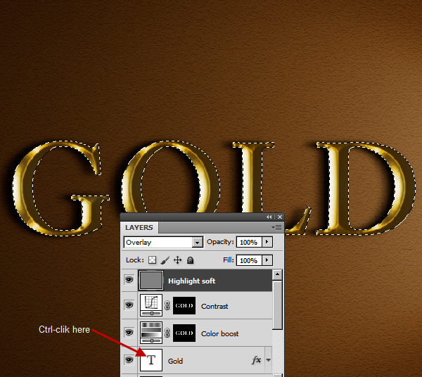 Learn a realistic gold text effect in Photoshop 32