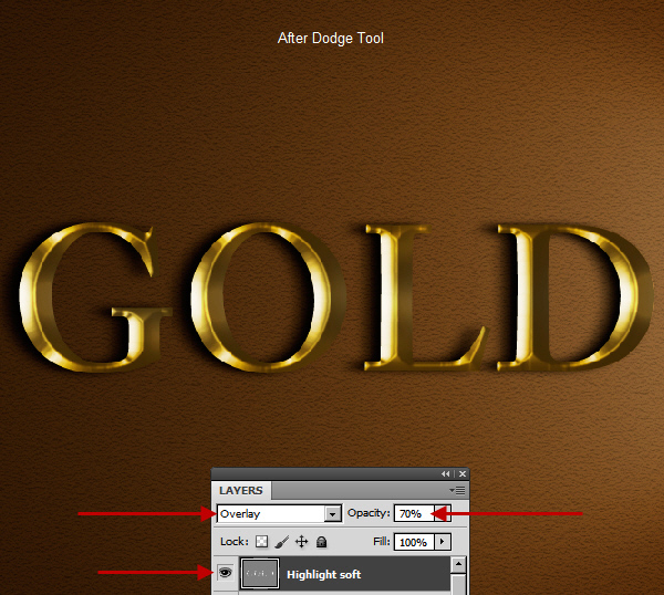 Learn a realistic gold text effect in Photoshop 35